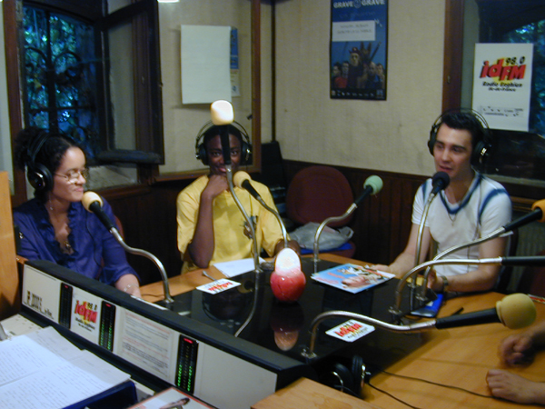 La Big Bang team 2003 : Flore, Dylan et Didier