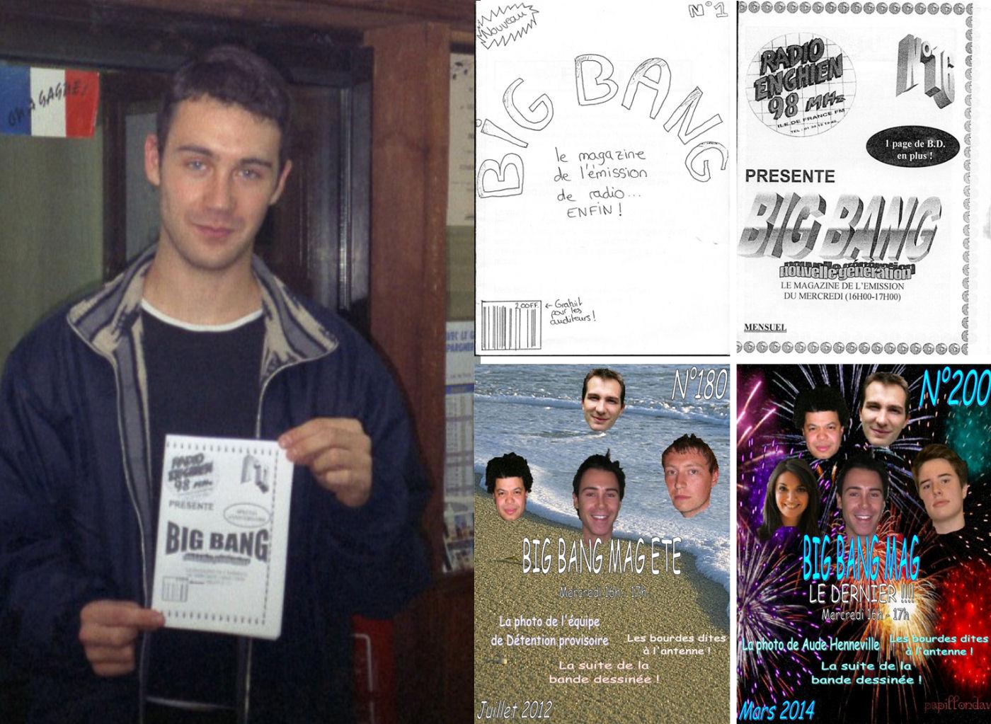 En 1997, sort le Big Bang mag. En 2005, pour le numéro 100, le magazine abandonne la version papier. En 2014, après 200 numéros, les différentes rubriques étant intégrées sur le site et les réseaux sociaux, le Big Bang mag s'arrête. Voici les liens de deux Big Bang mag : <a href=