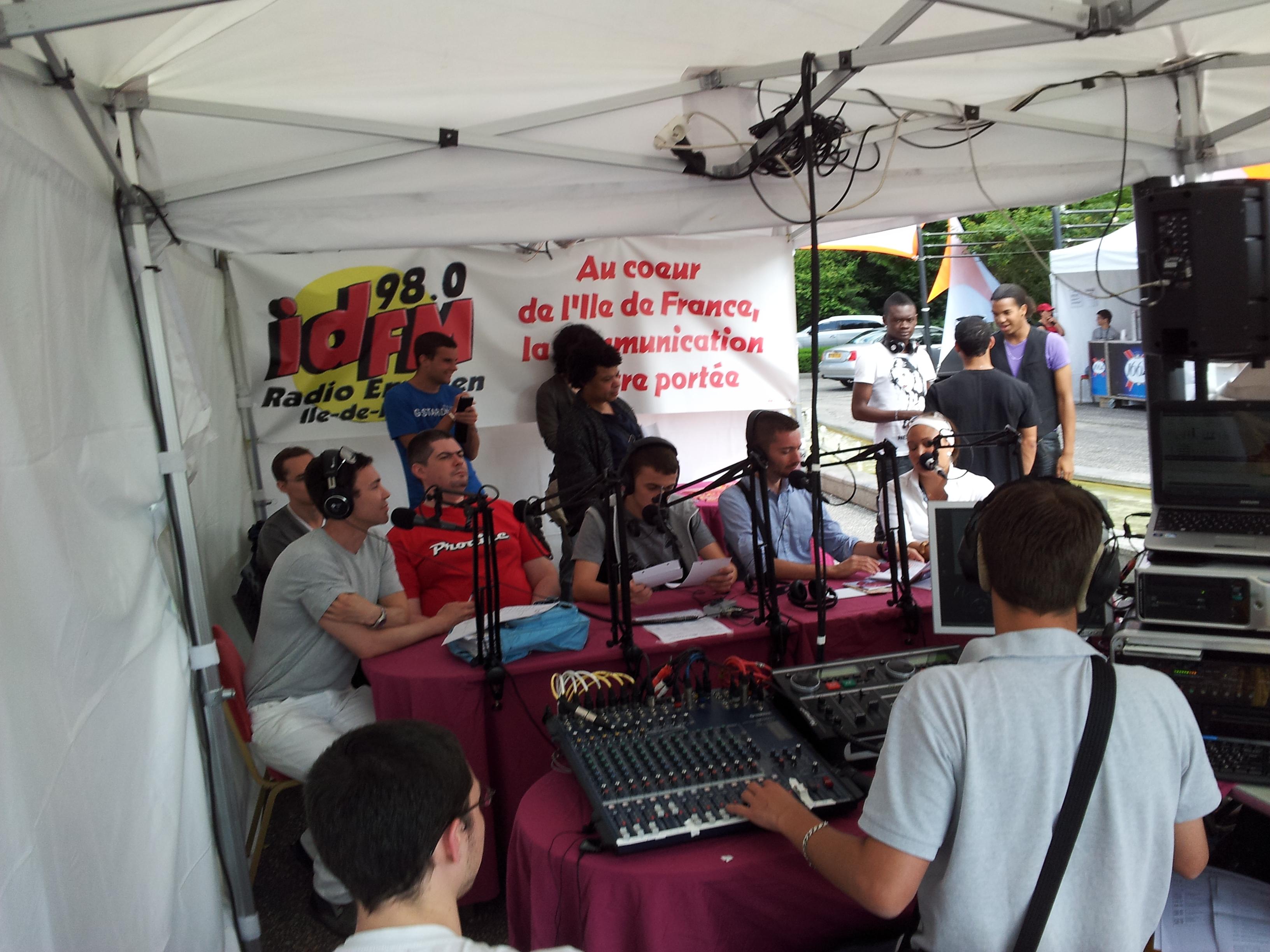 Une spéciale Festival de Jazz d'Enghien, réalisée en extérieur