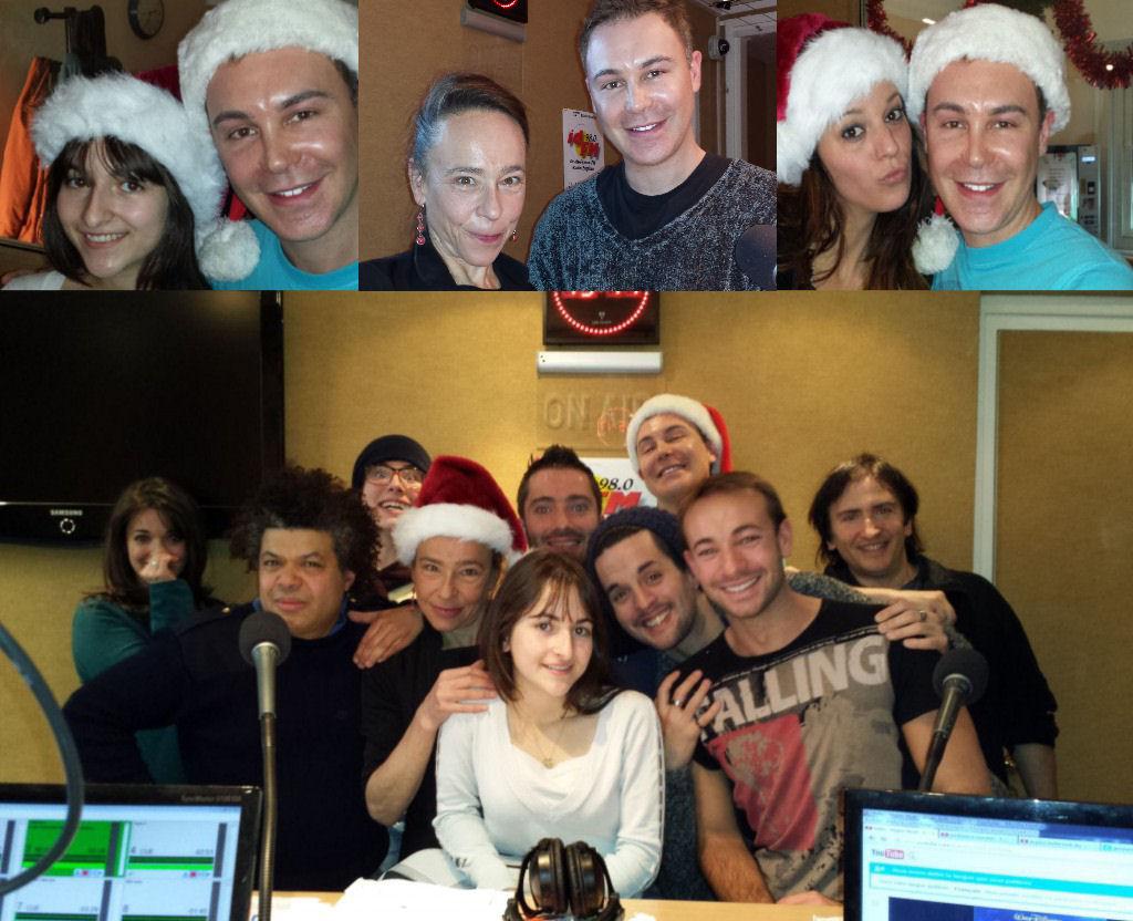 Une des nombreuses spéciales (une toutes les 10 émissions). Ici, une émission de 2 heures pour Noël avec Syrielle Mejias (Soda), Dominique Frot (Soda), Aude Henneville (The Voice) et beaucoup d'autres invités