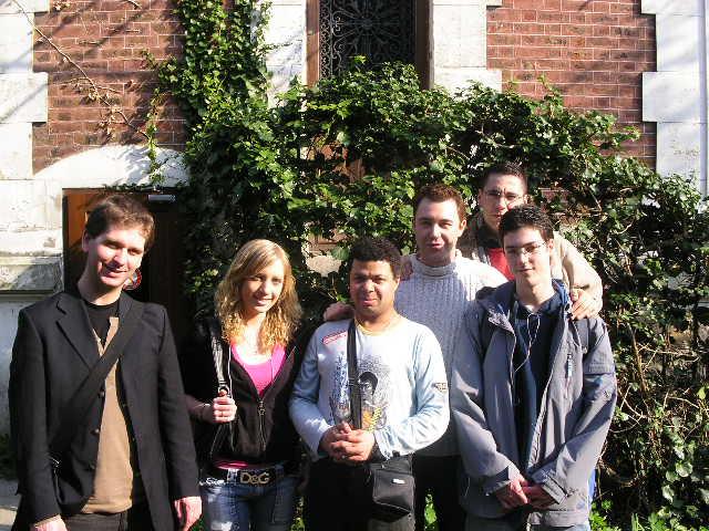 La Big Bang team 2007 : Ivan, Caro,  Petit Manu, Didier, Fred Kobis et Yoan