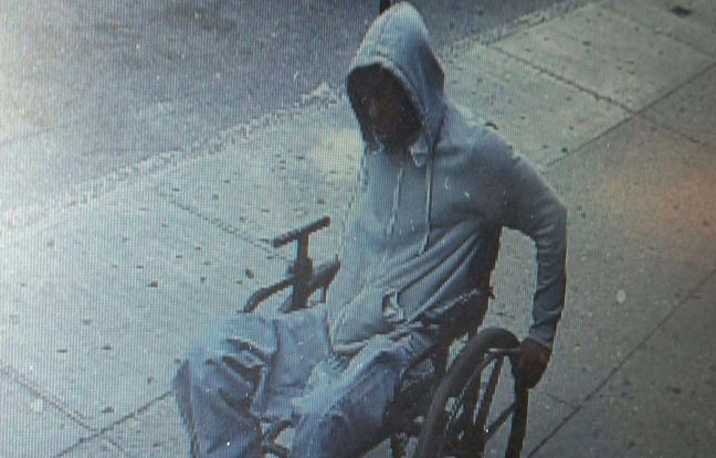 braquage en fauteuil roulant à New-York le 29 juin 2015