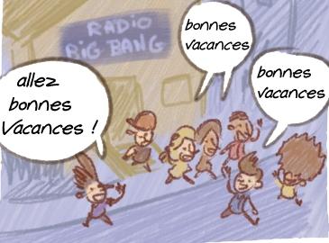 bd big bang ferme pour vacances  p1