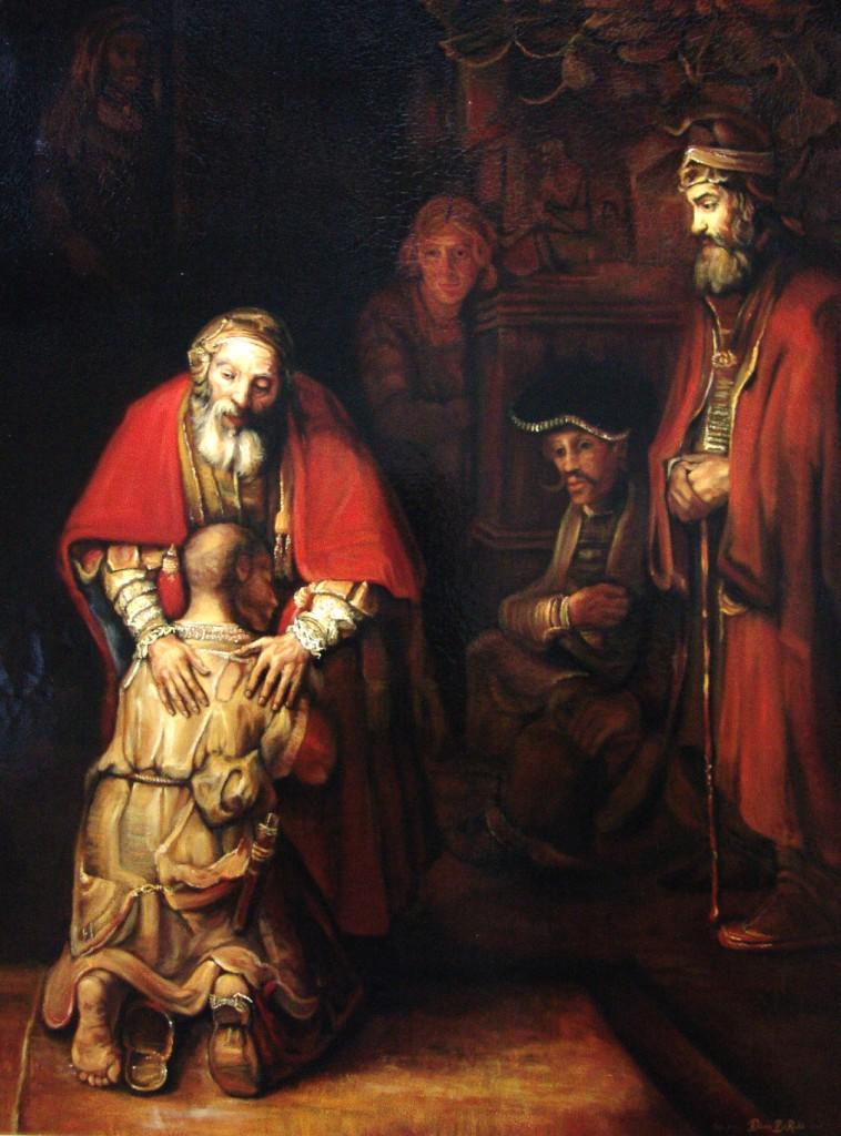 Le retour du fils pardonné de Rembrandt