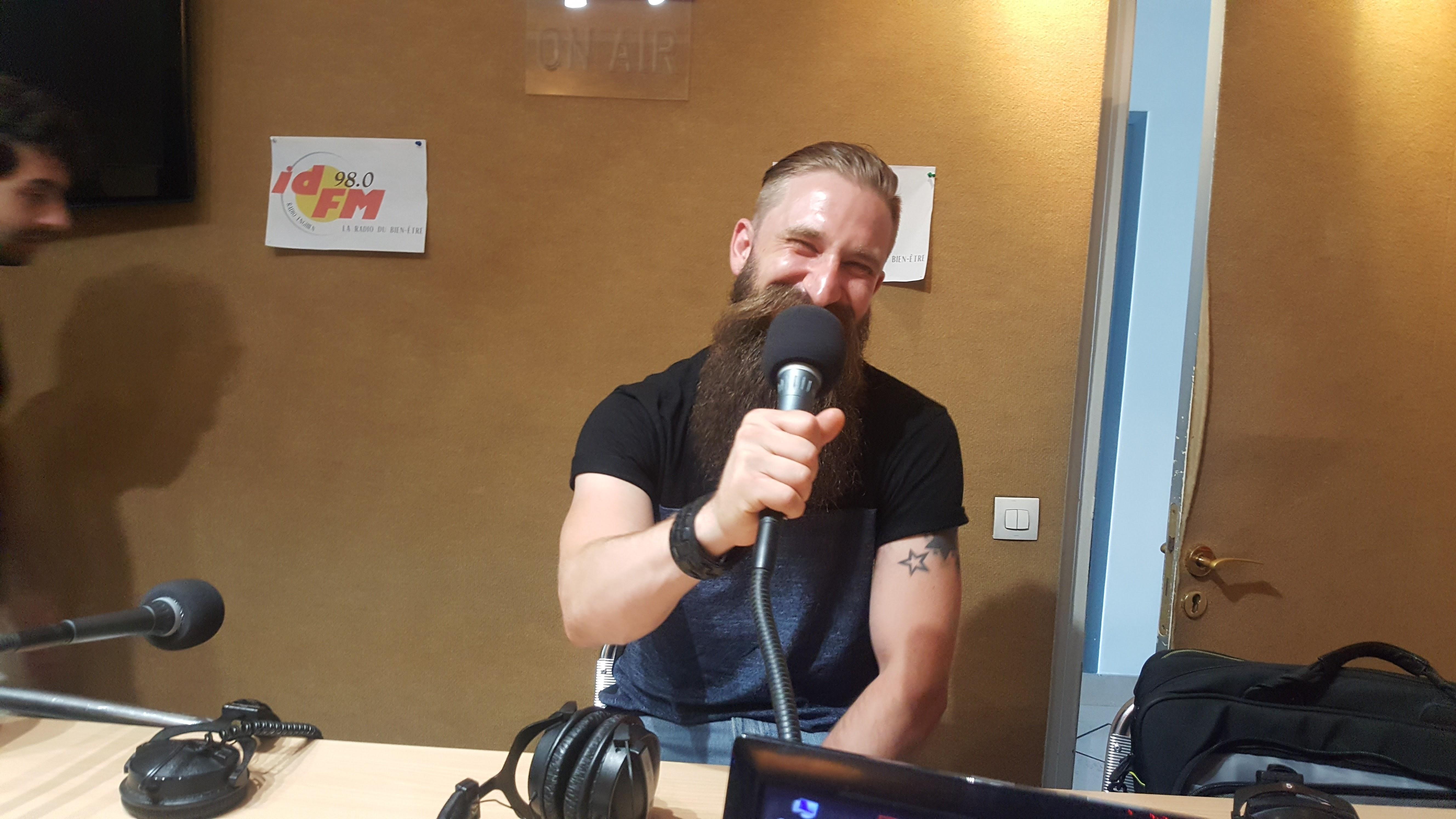 Javor Mujicic, le gagnant du concours de barbe catégorie Barbe Garibaldi