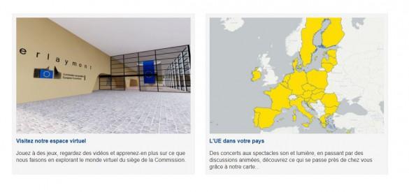 screenshot espace virtuel europa